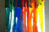 Amusant et facile fondent colorie art pour les enfants