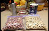 Rôtir les noix de cajou et cacahuètes