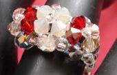 Easy 3 Fleur cristal Ring