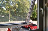 Fixation manivelle cassée sur une fenêtre Store