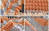 Couverture de bébé point Glover – Crochet patron gratuit & tutoriels vidéo