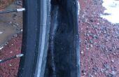 Volet de boue pour garde-boue vélo