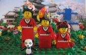 LEGO Mini Figure cheveux