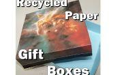 Recyclé des boîtes de papier cadeau