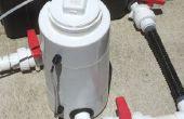 Aquaponique BIO-réacteur - partie d'une conception de l'unité de balcon
