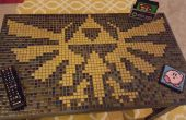 Table basse Zelda carrelage mosaïque