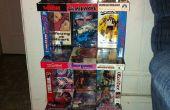 Recyclé VHS étagères