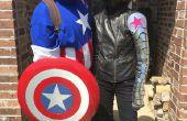 Chemise Captain America - bande dessinée classique !