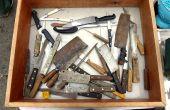 Restauration de vieux couteaux de cuisine