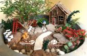 Accessoires de bricolage jardin Miniature