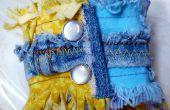 Brassard tissu upcycle