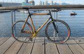 Construction d'un vélo de bambou de Fibre de carbone à partir de zéro