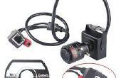 Examen de caméra IP Mini haut-201 720 P & lentille couleur Correction (2. 8-12mm Zoom Lens)