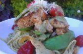 Caker crabe pâtes
