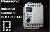 Mon Panasonic PLC FPX C14 R et Arduino
