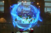 Juke-box holographique (Intel IoT)