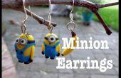 Boucles d'oreilles Minion