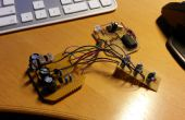 Courant constant LED RGB fade effet avec transistors