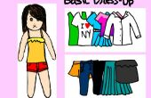 Jeu Flash de base « Dress Up »