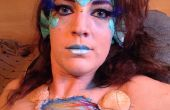 Maquillage Halloween sirène