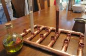 Étagère à épices steampunk