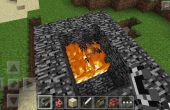 Comment faire des flammes Tnt sur Minecraft !