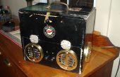 Boîte de haut-parleur steampunk - mon premier Instructable