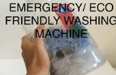 Machine à laver d'urgence
