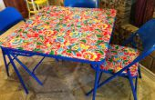Créer une nouvelle Table de Crafting ; Upcycle dégueu vieille table de carte