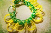 Rainbow Loom Bracelet de fleurs