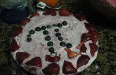 Tarte aux fraises/bleuets d'yougrt GF