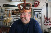 Faire une couronne en bois d'un journal