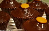 Chocolat cupcakes Cointreau