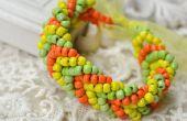 Comment faire un Bracelet manchette de poney perle pour l'automne doré