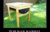 55 gallon Top Bar tonneau Bee Hive