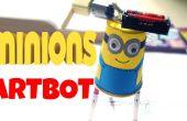 BRICOLAGE pour enfants : sbires artbot (tutoriel facile)