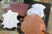 Comment concevoir, imprimer et utiliser les timbres de cuir imprimés 3D !