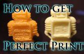 Comment trouver les paramètres d'impression parfaites pour votre imprimante 3D