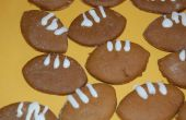Comment faire des biscuits de Football