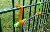 Câble de crochets pour clôture métallique solide