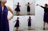 Une robe, plusieurs combinatios. BRICOLAGE simple robe