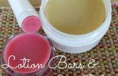 Barres de Lotion bricolage & baume pour les lèvres !