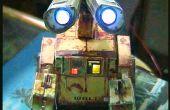WALL-E en papier avec leds