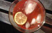 Rose cerise limonade