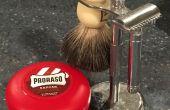 Comment mouiller rasage avec un rasoir de sécurité.