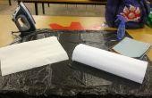 Comment faire pour teindre les tissus avec papier de soie (j'ai fait à TechShop!)