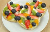 Mini Pizzas de fruits