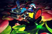 Android Bot contrôlée à l'aide de Adafruit automobiles de bouclier