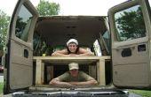 Construire un lit à l'arrière de votre Van
