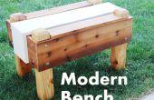 Comment construire un banc Modern